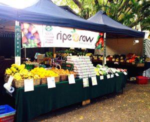 Ripe n Raw Organics' Stall